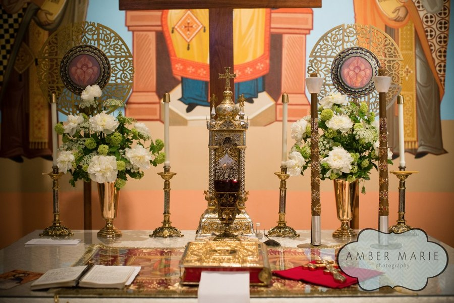 Altar Arrangements- Holy Cross Church