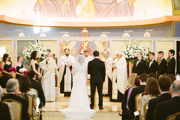 Holy Trinity Church Wedding Ceremony