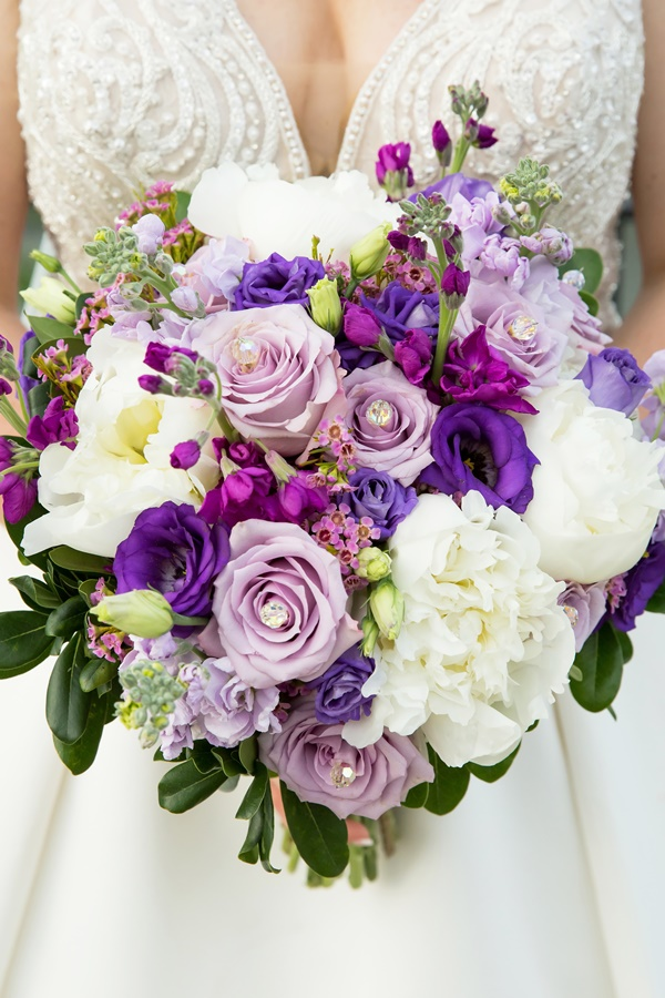 Purple/Lavender/White Bouquet