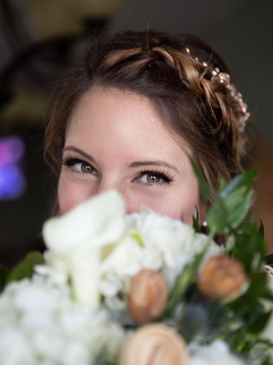 Peek-a-Boo Bride
