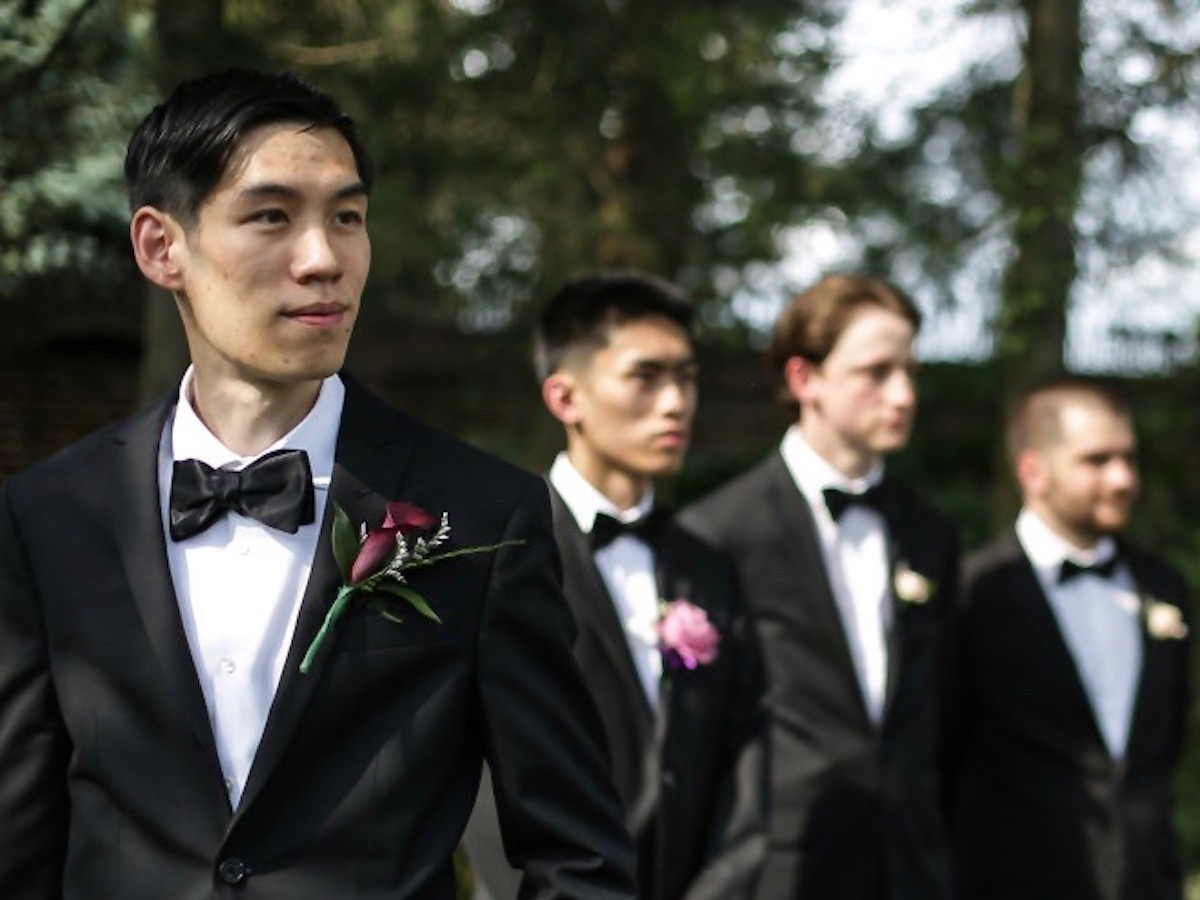 Groom and Attendants
