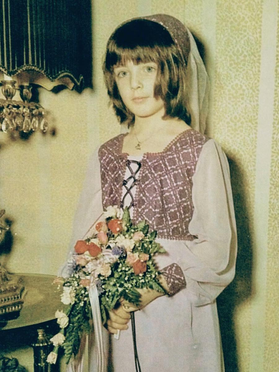 Florist as a Flower Girl, 1971