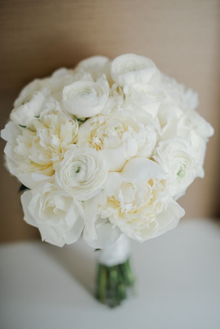 Peony and Ranunculus Bouquet