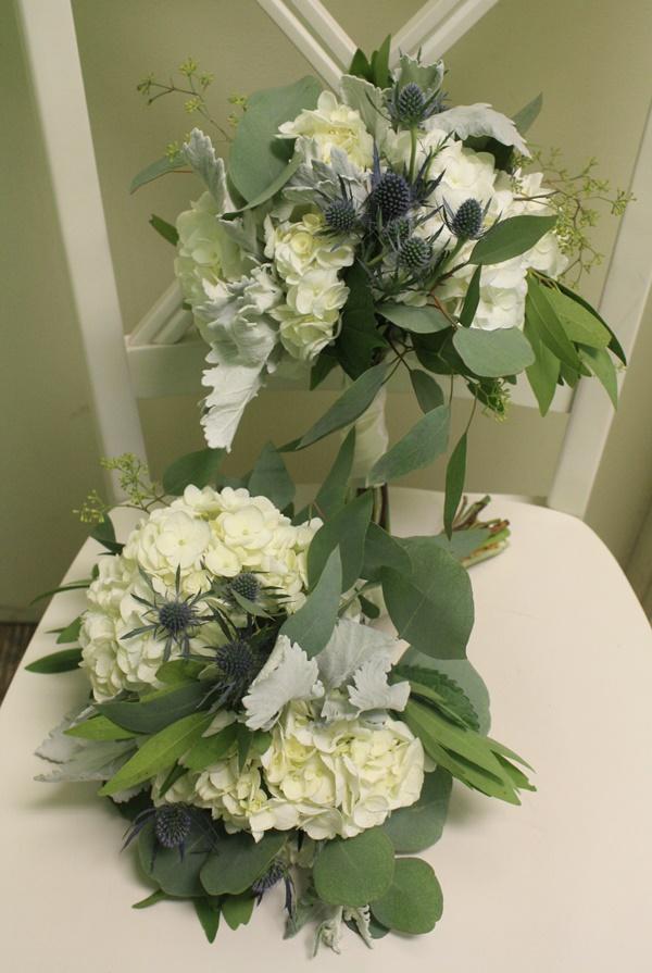 Hydrangea/Thistle Bridesmaid