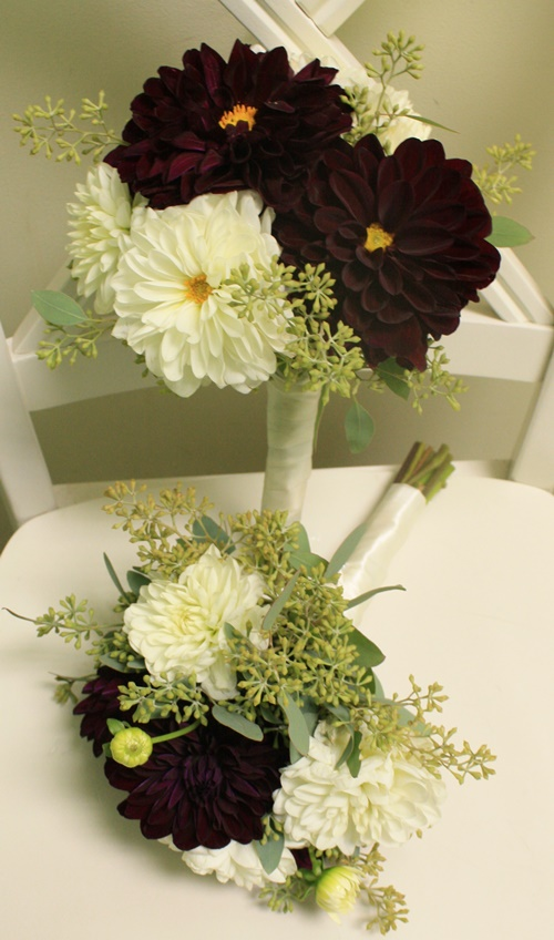 Dahlia Bridesmaid Bouquet