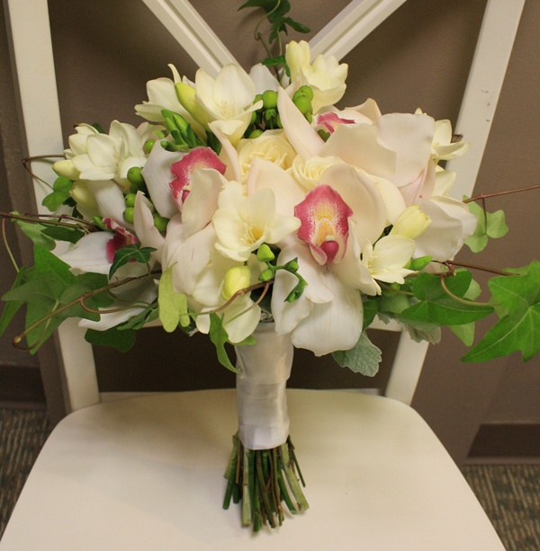 Orchid Bridal Bouquet
