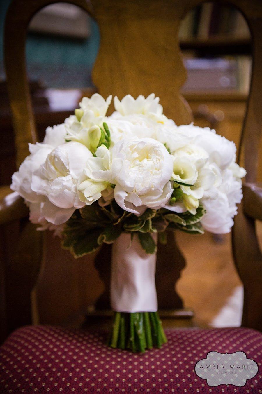 Peony and Ranunculus Bride