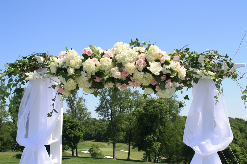Sewickley Heights Floral Archway
