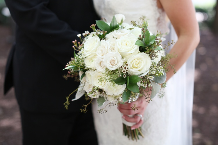 White/Ivory Bridal Bouquet