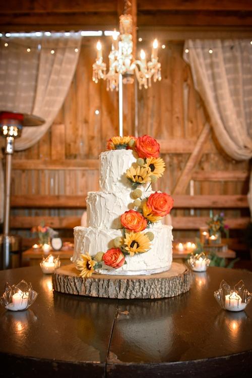 Cascade Cake Flowers