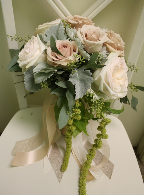 Blush Roses Bridal Bouquet